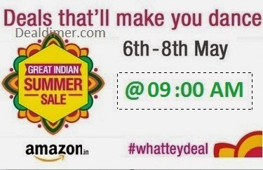 [60+ Deals] Amazon WhatTeyDeal Great Indian Summer Sale - 7th May @ 9AM