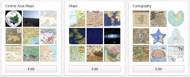 Pinterest geospatial pin boards