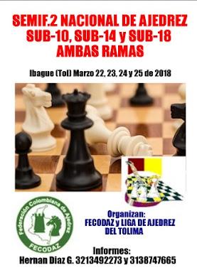 Semifinal Nacional 2 Sub-10, 14 y 18 Ambas Ramas 2018