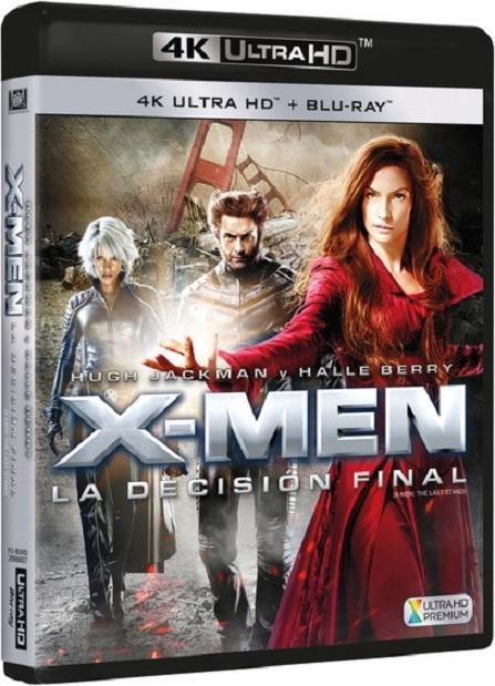 X-Men: The Last Stand 4K (X-Men 3: La Batalla Final 4K) (2006) 2160p 4K UltraHD HDR BluRay REMUX 48GB mkv Dual Audio DTS-HD 6.1 ch