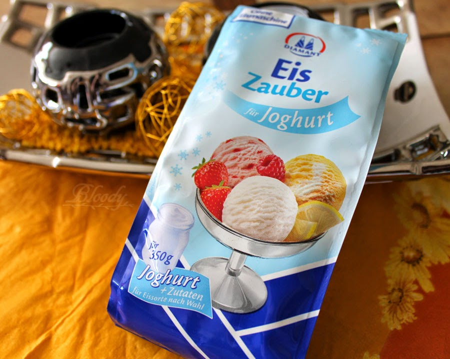 bloody testet eigenes joghurt eis herstellen mit dem eiszauber f r joghurt von diamant. Black Bedroom Furniture Sets. Home Design Ideas