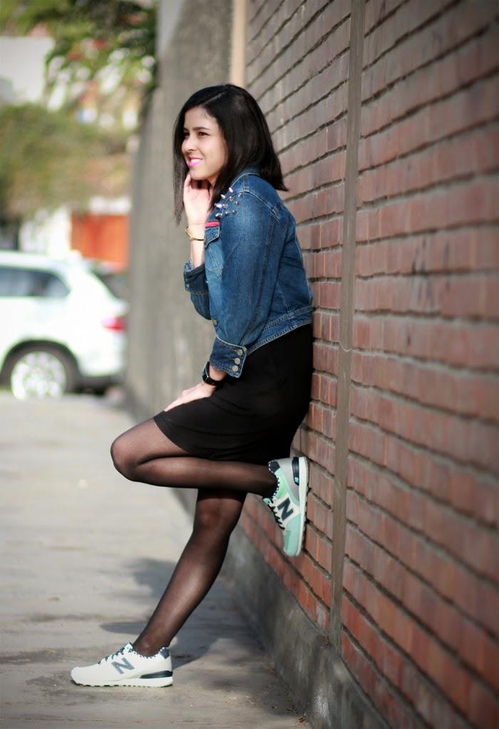 vestido   zapatillas
