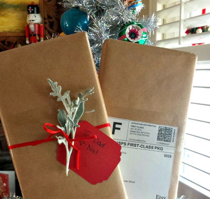 Kraft paper is a blank canvas - personalize the wrapping with a topper or get creative via The Sunshine Grove