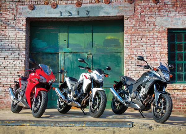 2013 Honda CBR500R, 2013 Honda CB500F And 2013 Honda CB500X Launched In USA&#8211; Official Pictures, Features And Price