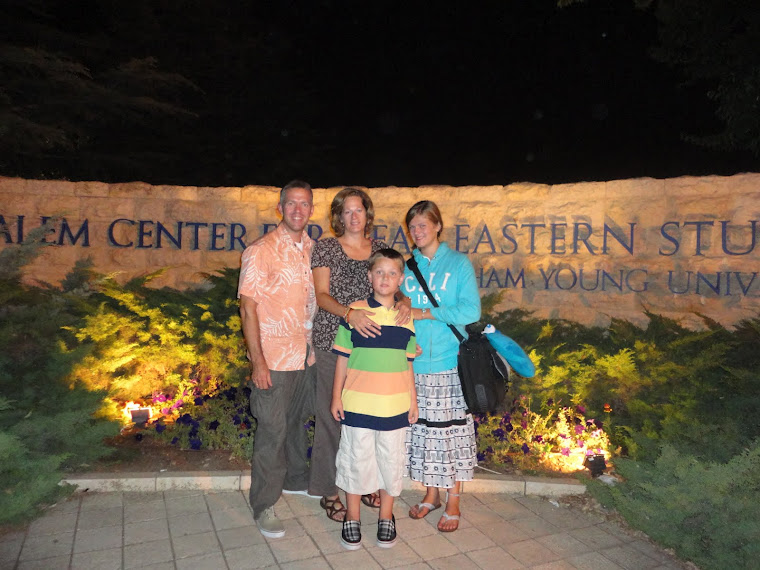 Family at the Jerusalem Center