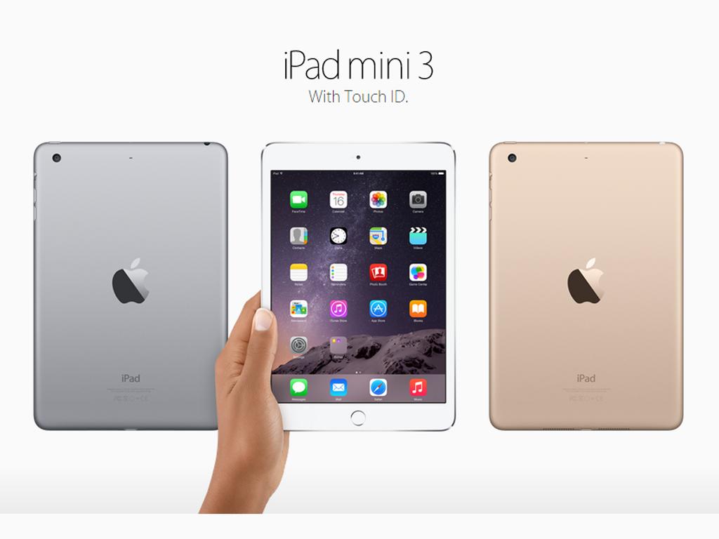 Apple Announces iPad Mini 3