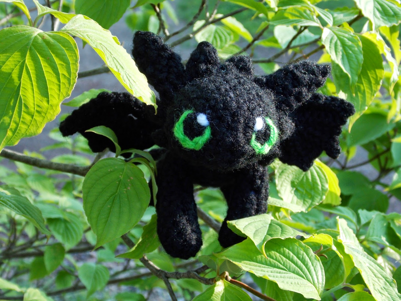 Free Crochet Pattern For Toothless The Dragon : Great Grey Crochet: Baby Toothless!