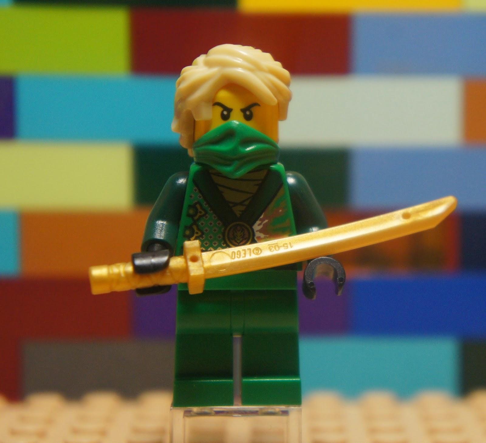 LEGO NJO097 Ninjago Rebooted LLOYD GARMADON Samurai Weapon Minifigure