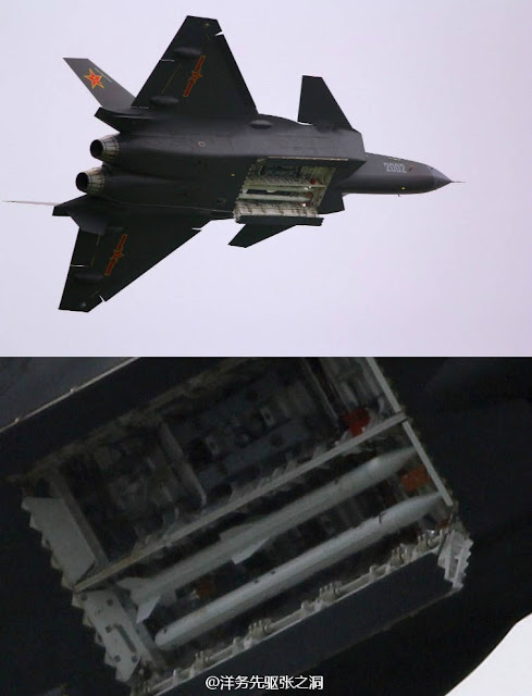 J-20 Stealth Fighter From Inside