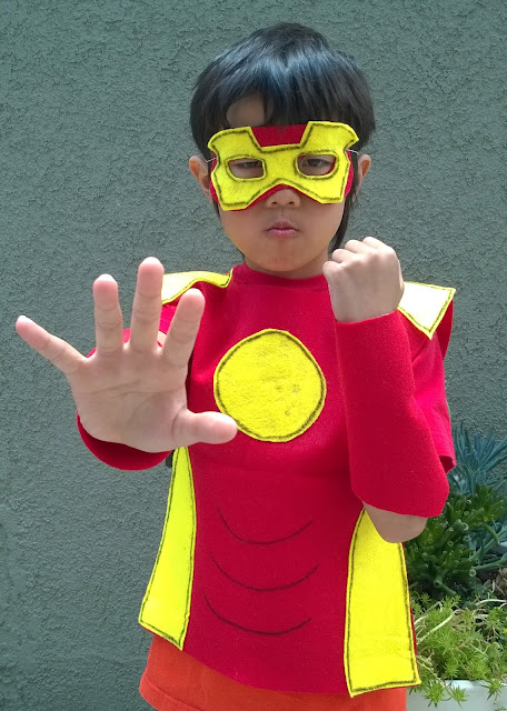 no sew kids iron man costume