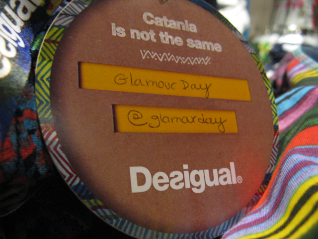 desigual, glamourday, blogger party