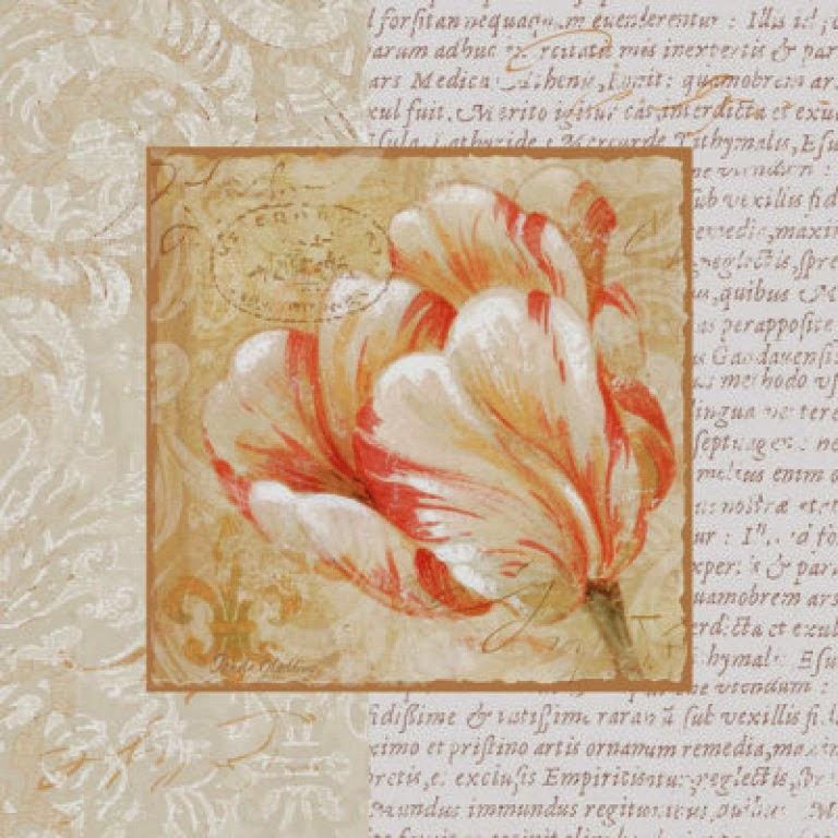 Decora con flores laminas de tulipanes para decoupage y for Laminas de decoracion