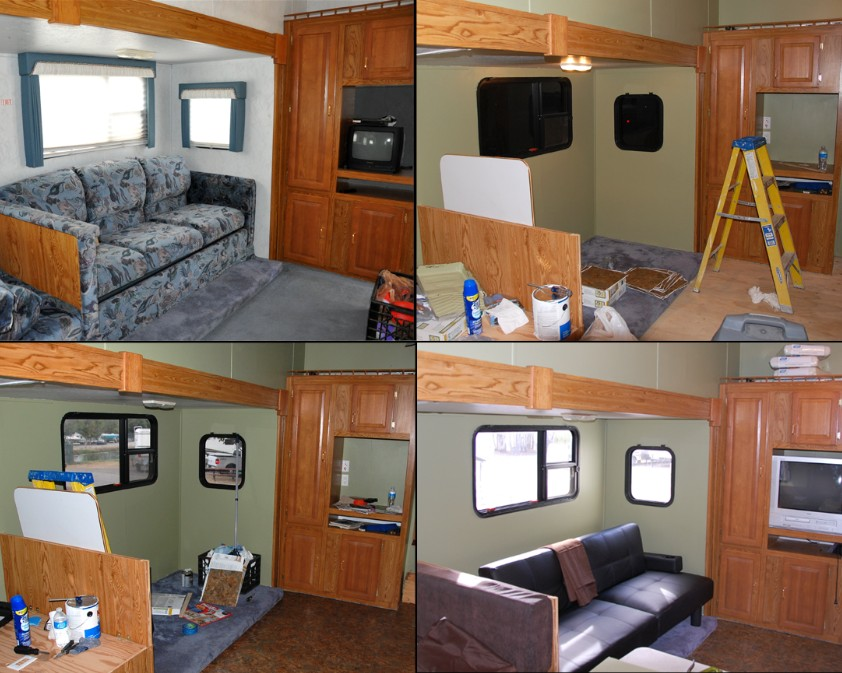 Rv Remodel More Pics The Lundy 5
