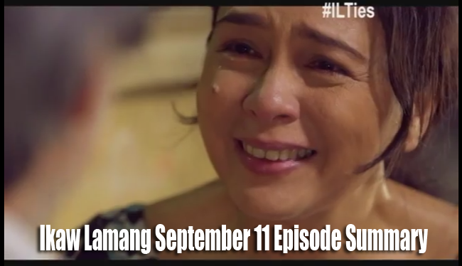 Faith will Judge on ABS-CBN's Ikaw Lamang September 11 Episode