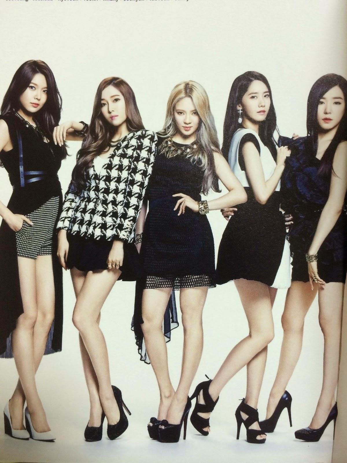 SNSD Girls Generation The Best Scan Photos 3