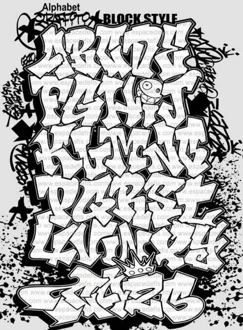 Graffiti Creator Styles: Graffiti Letters Font