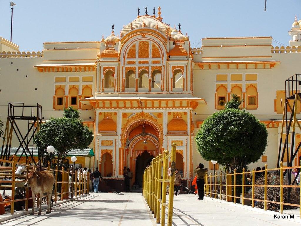 Ram Raja Temple Orchha Madhya Pradesh Popular Temples