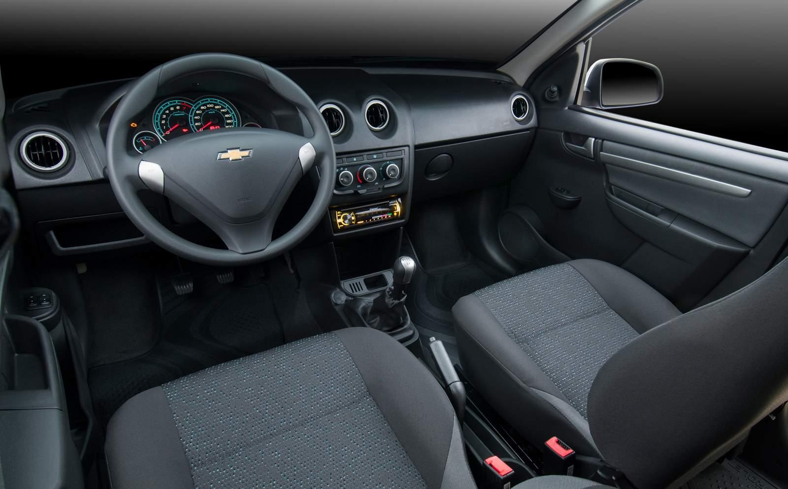 novo Chevrolet Celta 2014 - interior