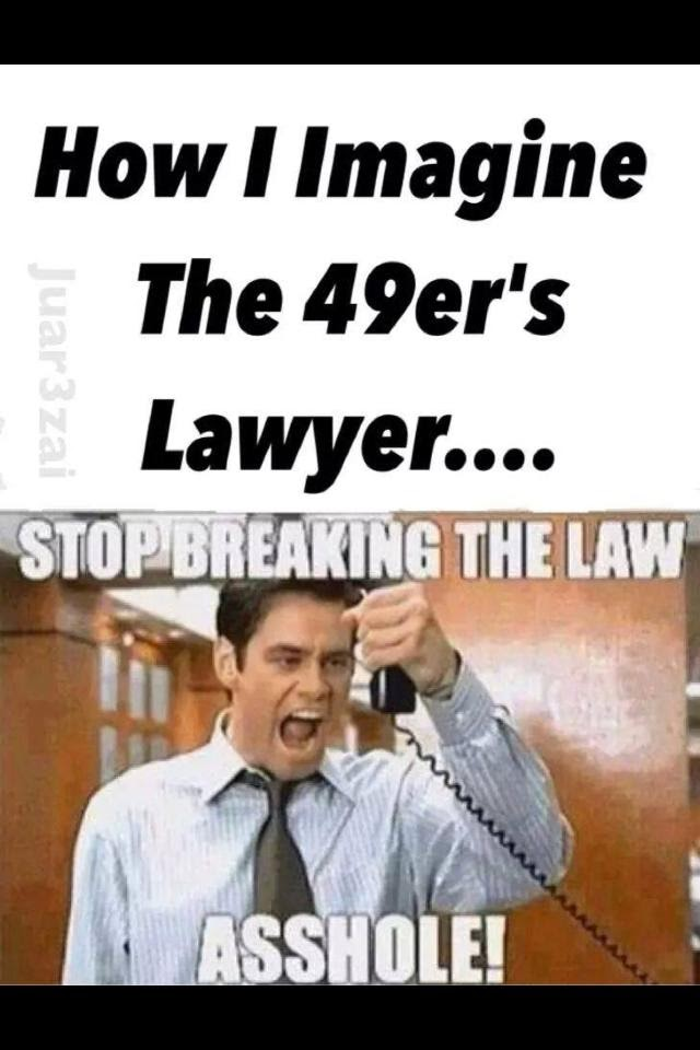 Breaking the law asshole are
