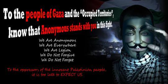 Diserang ANONYMOUS Indonesia, Israel ancam lakukan balasan TERHADAP ANONYMOUS INDONESIA