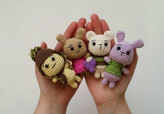 Tiny Critters Pattern