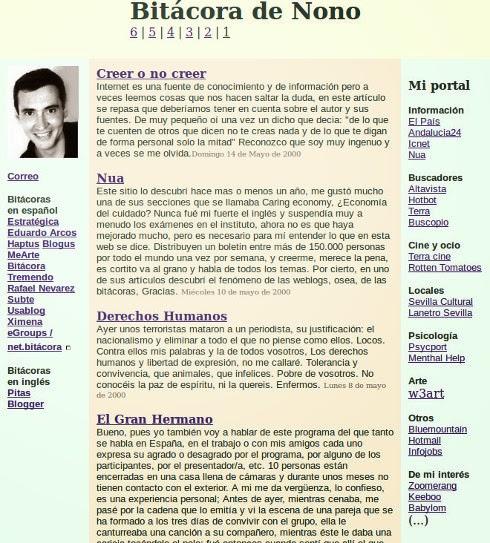 Blog de Nono 1999 - 2003