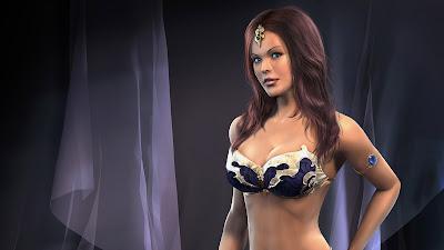 3D HOT WALLPAPER GIRL BODY