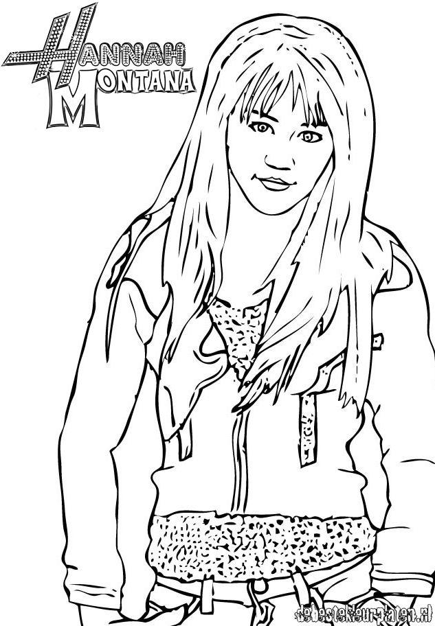 hannah montana coloring pages - desenhos da hannah montana para imprimir e colorir
