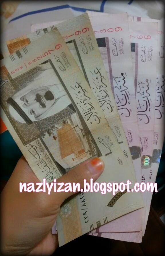 tukar duit arab saudi