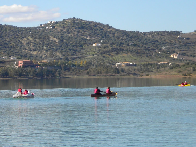 Excursión náutica en La Viñuela