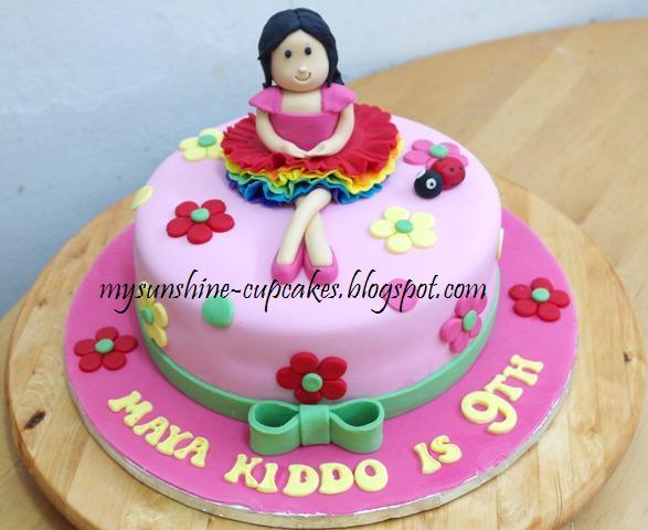 Mysunshine Cake Doll Cake