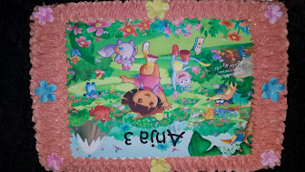 Dora the Explorer Cake for Anja