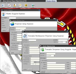 Aplikasi Koperasi Menggunakan VB 6.0