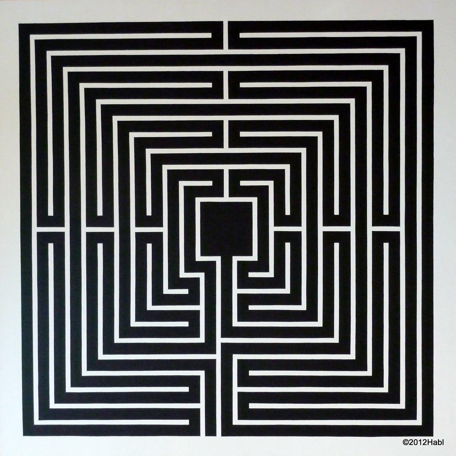 habl labyrinth ziel ist nicht den weg zu suchen sondern seinen weg zu gehen schwarz wei. Black Bedroom Furniture Sets. Home Design Ideas