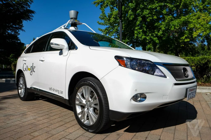 Google Self Driving Car Pics