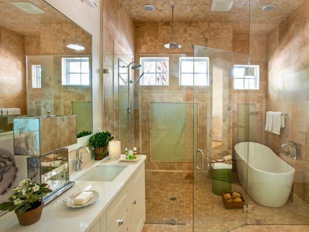 Interior Design Ideas for Home Decor: Master Bathroom Pictures ...