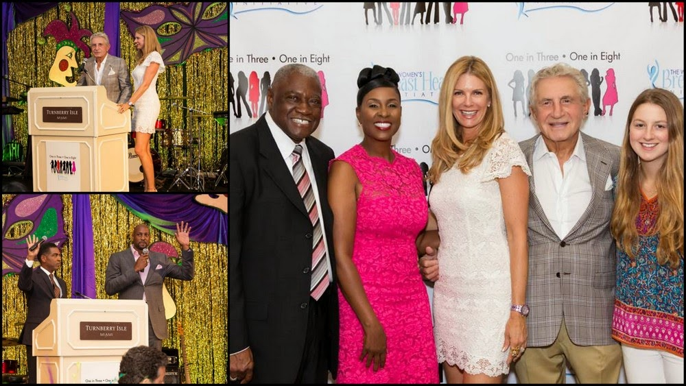 Events:Women's Breast Health Initiative and Miami honorees jazzed it up for a good cause!