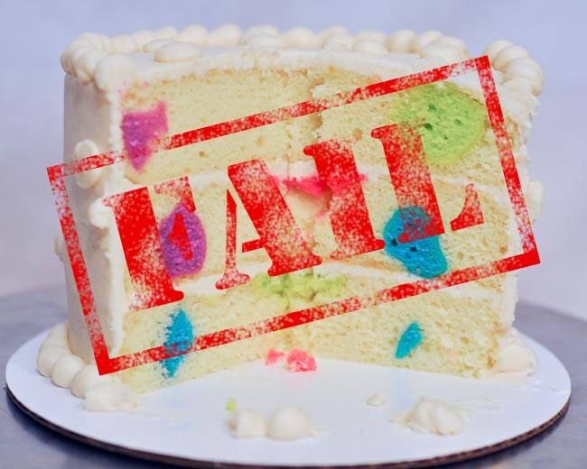 Cake Trial 1