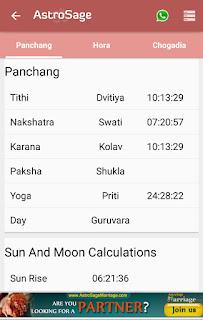 Panchang and Hindu Calendar