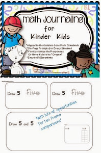 Math Journaling Bundle for K or 1st