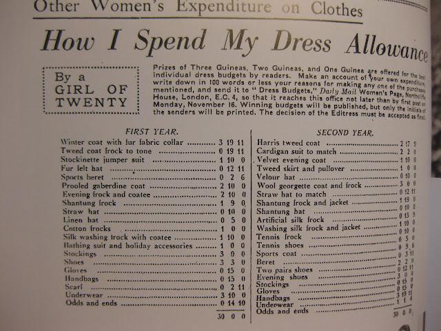 vaatetus 30-luvulla