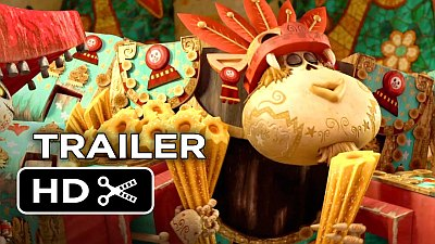 The Book of Life (Movie) - Official Trailer 2 - Song / Music