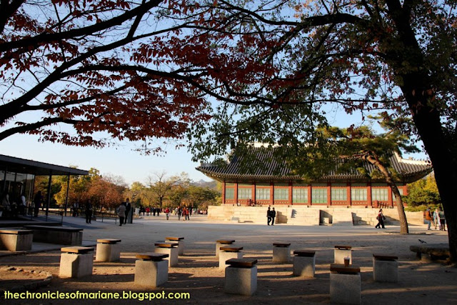 Gyeongbokgung Palace autumn