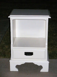 Shabby Chic Nightstand  *SOLD*