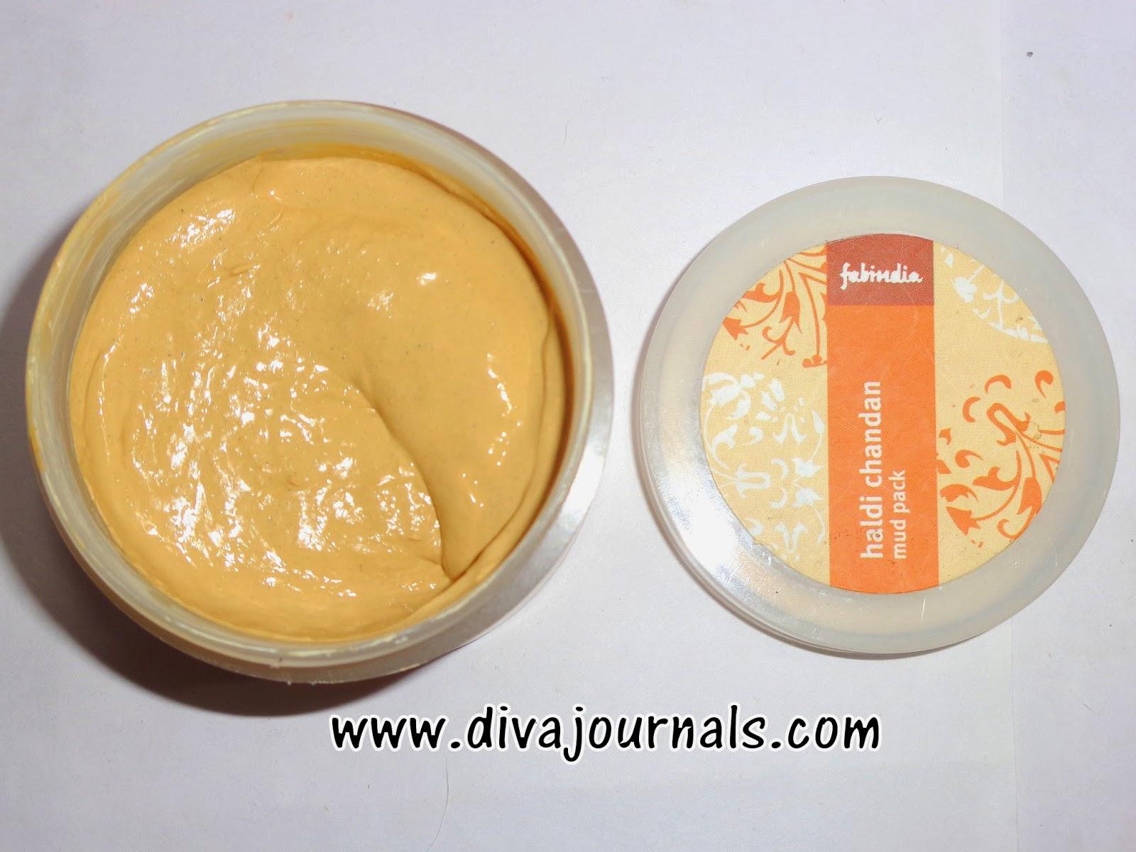 Fabindia Haldi Chandan Mud Pack