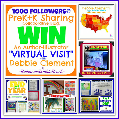 photo of: Author-Illustrator VIRTUAL VISIT Giveaway at PreK+K Sharing via RainbowsWithinReach