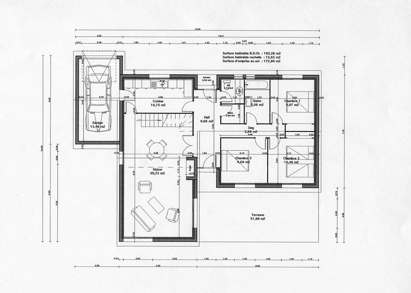 Plans de maison 2 book batiment architecture - Plan de maison architecte ...