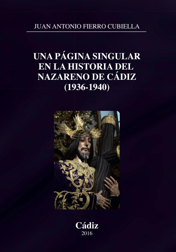 Una página singular en la historia del Nazareno de Cádiz (1936-40)