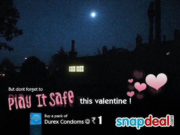 Durex Jeans Condoms Valentine day special