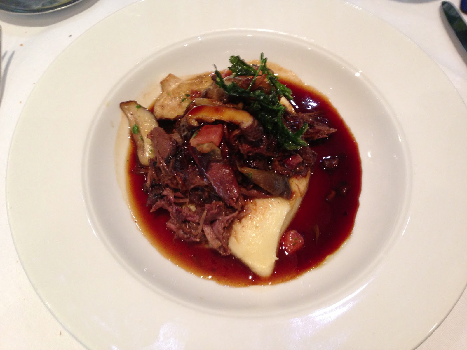 Ragout Of Venison With Wild Mushrooms Recipe — Dishmaps